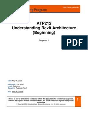 Understanding Revit Architecture -Beginners   Autodesk Revit