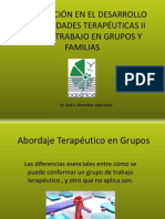 Capacitación en el desrrollo de habilidades terapéuticas II 2003