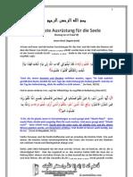 Die beste Ausrüstung für die Seele - Auszug aus al Fawa'id