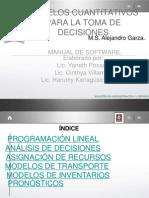 Modelos Cuantitativos_manual de Software