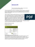 Interfaz de Dreamweaver CS5