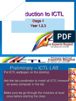 Introduction to i Ct l