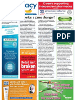 Pharmacy Daily for Thu 21 Jun 2012 - Generics changing the game, Pharmacy network, Drug and alcohol funding and much more...