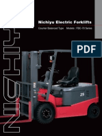 Nichiyu Electric Forklifts