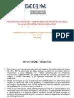 PROTOCOLO DE OPERACIÓN Y CONSERVACION DE PROYECTOS DE