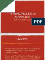 12 Principios de Animacion