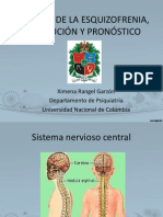 CAUSAS DE LA ESQUIZOFRENIA, EVOLUCIÓN Y PRONÓSTICO2003
