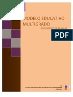 57086419 Modelo Educativo Multigrado