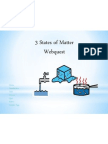 States of Matter Webquest