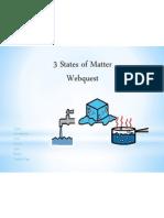 States of Matter Webquest