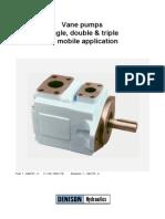 Parker (T6,T6CC) Hydraulic Vane Pumps