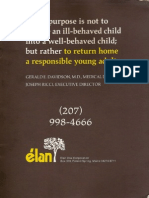 Elan Brochure Inside Back Cover