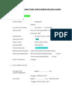 Biodata Lahan Kelapa Sawit PKS Di DJB 310512