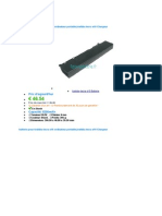 Economiser energie de la batterie toshiba pa3832u-1brs
