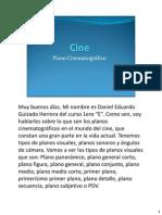Cine - Plano Cinematográfico