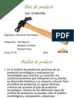 Anaalisis Dee Producto.