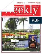 Local Leaders Unite--Beverly Hills Weekly, Issue #664