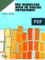 Problemas-Mecanica de Suelos y de Cimentaciones-Crespo Villalaz