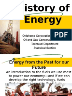History of Energy