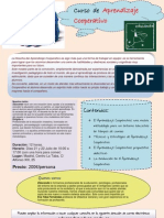 Cartel Curso Aprendizaje Cooperativo