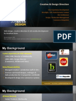 Jonathan Bates Design Portfolio - Web Content - Revised 2009