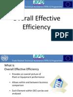 Overall Effective Efficiency