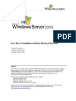 Print Server Scalability and Sizing Technical Overview White Paper