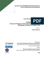 Kinerja Kecamatan_ Persepsi Dan Ekspektasi Publik Terhadap Fungsi Dan Peran Kelembagaan Kec1