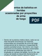Fundamentos de Balistica en Heridas (1)