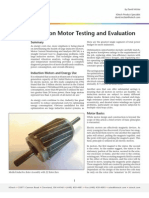 Induction Motor Testing and Evaluation
