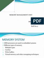 Memory Management Unit