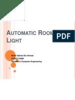 Automatic Room Light Slide