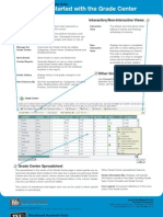 Getting Started With the Grade Center PDF