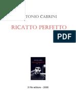 Antonio Cabrini-Ricatto Perfetto PDF