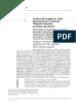 Linfoma de Hodgkin en Chile