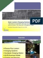 Simon Henschel - Solar Lantern Charging Solution