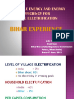 U.N. Panjiar - Bihar Experience