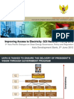 Agung Wicaksono - Improving Access to Electricity GOI National Priority 2012
