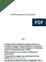 LPP Formulation