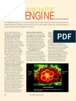 RT Vol. 7, No. 3 Supercharging the rice engine