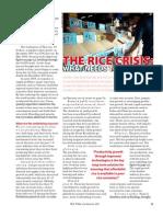 RT Vol. 7, No. 3 The rice crisis