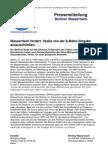 Pressemitteilung vom Berliner Wassertisch vom 21. Juni 2012