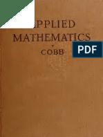 Elements of Applied Mathematics