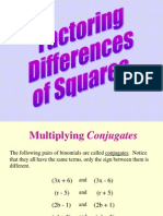 Factor_difference of Squares
