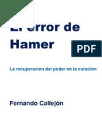 El error de Hamer