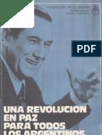 Perón, Juan. Discursos Nº 16 . Editorial Codex, 1974.