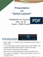 22838085 Ashok Leyland