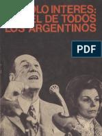 Perón, Juan. Discursos Nº 5 . Editorial Codex, 1974.