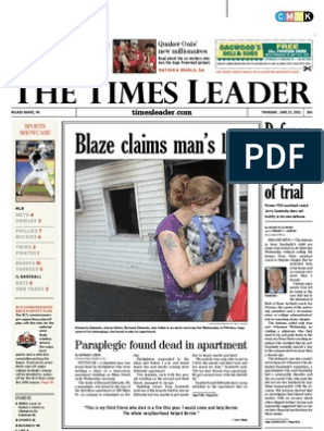 Times Leader 06-21-2012 | Powerball | Common Law