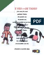 EL TE VEO DE TADEO